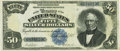 Large Size:Silver Certificates, Fr. 335 $50 1891 Silver Certificate PCGS Extremely Fine 40.. ...