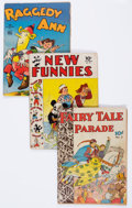 Golden Age (1938-1955):Miscellaneous, Dell Golden Age Comics Group of 24 (Dell, 1940s) Condition: Average GD+.... (Total: 24 Comic Books)