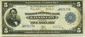 Large Size:Federal Reserve Bank Notes, Fr. 802 $5 1915 Federal Reserve Bank Note PCGS Very Fine 20.. ...