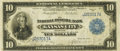 Large Size:Federal Reserve Bank Notes, Fr. 817a1 $10 1915 Federal Reserve Bank Note PCGS Very Fine 25 Apparent.. ...
