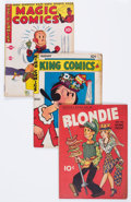 Golden Age (1938-1955):Miscellaneous, David McKay Golden Age Comics Group of 23 (David McKay Publications, 1940s) Condition: Average GD/VG.... (Total: 23 Comic Books)