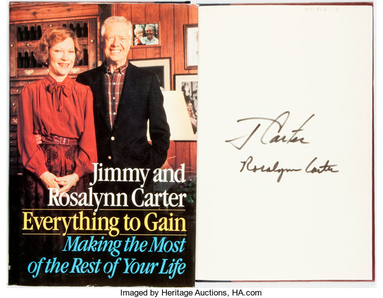 Jimmy And Rosalynn Carter Signed Everything To Gain Making The