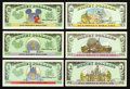 Miscellaneous:Other, Disney Dollars 1996, 1997, and 2000.. ... (Total: 10 notes)