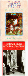 Books:Biography & Memoir, [William Holman Hunt]. Jeremy Maas. Holman Hunt and the Light of the World. London: [Scolar Press, 1984]. [and:] A... (Total: 2 Items)