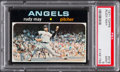 Baseball Cards:Singles (1970-Now), 1971 Topps Rudy May #318 PSA Mint 9....