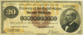 Large Size:Gold Certificates, Fr. 1177 $20 1882 Gold Certificate PCGS Very Fine 20.. ...