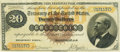 Large Size:Gold Certificates, Fr. 1177 $20 1882 Gold Certificate PCGS Very Fine 35.. ...