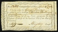 Colonial Notes:Connecticut, Connecticut Interest Payment Certificate Apr. 14, 1792 Very Fine.....