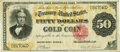 Large Size:Gold Certificates, Fr. 1193 $50 1882 Gold Certificate PCGS Very Fine 30PPQ.. ...