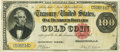 Large Size:Gold Certificates, Fr. 1206 $100 1882 Gold Certificate PCGS Very Fine 30PPQ.. ...