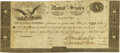 """Large Size:War of 1812, Fr. TN-14a $10 March 25, 1815 """"Act of February 24, 1815"""" Double Signature Remainder. PCGS Very Fine 20 Apparent.. ..."""