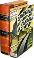 Books:Literature 1900-up, John O'Hara. Appointment in Samarra. New York: Harcourt,Brace and Company, [1934]....