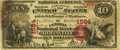National Bank Notes:Missouri, Boonville, MO - $10 1875 Fr. 416 The Central NB Ch. # 1584 PCGSVery Fine 20 Apparent.. ...