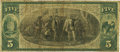 National Bank Notes:Missouri, Jefferson City, MO - $5 1875 Fr. 401 The First NB Ch. # 1809 PCGSFine 15.. ...