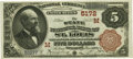 National Bank Notes:Missouri, Saint Louis, MO - $5 1882 Brown Back Fr. 477 The State NB Ch. #(M)5172 PCGS Superb Gem New 67PPQ.. ...