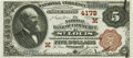 National Bank Notes:Missouri, Saint Louis, MO - $5 1882 Brown Back Fr. 474 The NB of Commerce Ch.# (M)4178 PCGS Gem New 66PPQ.. ...