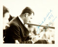 "Autographs:Celebrities, [Boxing]. James Walter ""Cinderella Man"" Braddock, heavyweightchampion boxer (1905-1974). INSCRIBED Photograph. Dated 1937...."