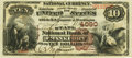 National Bank Notes:Kentucky, Frankfort, KY - $10 1882 Brown Back Fr. 484 The State NB Ch. # 4090PCGS Very Fine 30.. ...