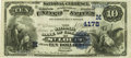 National Bank Notes:Missouri, Saint Louis, MO - $10 1882 Date Back Fr. 539 The NB of Commerce Ch.# (M)4178 PCGS About New 53PPQ.. ...