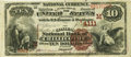 National Bank Notes:Missouri, Chillicothe, MO - $10 1882 Brown Back Fr. 484 The Citizens NB Ch. #(M)4111 PCGS Very Fine 25.. ...