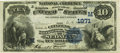 National Bank Notes:Missouri, Sedalia, MO - $10 1882 Date Back Fr. 540 The Citizens NB Ch. #(M)1971 PCGS Very Fine 30PPQ.. ...