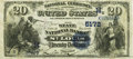 National Bank Notes:Missouri, Saint Louis, MO - $20 1882 Date Back Fr. 555 The State NB Ch. #(M)5172 PCGS Very Fine 30PPQ.. ...