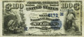 National Bank Notes:Missouri, Saint Louis, MO - $100 1882 Date Back Fr. 571 The State NB Ch. #(M)5172 PCGS Very Fine 35.. ...