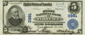 National Bank Notes:Alabama, Florence, AL - $5 1902 Plain Back Fr. 600 The First NB Ch. # 3981 PCGS Choice About New 55 Apparent. . ...