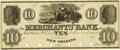 Obsoletes By State:Louisiana, New Orleans, LA - Merchants' Bank of New Orleans (1st) $10 18__ LA-90 G4 SENC. Proof. PCGS About New 53. . ...