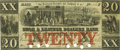 Obsoletes By State:Massachusetts, Boston, MA - Shoe & Leather Dealers Bank $20 Sept. 1, 1863MA-355 G12b SENC. PCGS Very Fine 30 Apparent.. ...