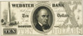 Obsoletes By State:Massachusetts, Boston, MA - Webster Bank $10 18__ MA-400 G12. Proof. PCGS ChoiceAbout New 58 Apparent. . ...