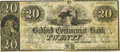 Obsoletes By State:Massachusetts, New Bedford, MA - Bedford Commercial Bank $20 Jan. 1, 1850 MA-880G38 SENC. PCGS Very Fine 20.. ...