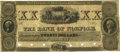 Obsoletes By State:Massachusetts, Roxbury, MA - Norfolk Bank $20 18__ MA-1060 G48a. Specimen. PCGS About New 53.. ...