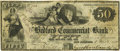 Obsoletes By State:Massachusetts, New Bedford, MA - Bedford Commercial Bank $50 Jan. 1, 1850 MA-880G50 SENC. PCGS Very Fine 20.. ...