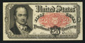 Fractional Currency:Fifth Issue, Fr. 1381 50¢ Fifth Issue Very Fine+.. ...