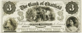 Obsoletes By State:Minnesota, Chatfield, MN - Bank of Chatfield $3 18__ MN-20 G6 UNL HewittB080-D3a. Proof. PCGS Very Choice New 64.. ...
