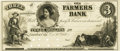 Obsoletes By State:Minnesota, Garden City, MN - Farmers Bank $3 October 10, 1858 MN-30 G6 HewittB120-D3. Proof. PCGS Gem New 65PPQ.. ...