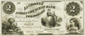 Obsoletes By State:Minnesota, Hokah, MN - La Crosse & La Crescent Bank $2 MN-50 UNL HewittB200-D2-1a. Proof. PCGS Choice New 63.. ...