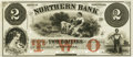 Obsoletes By State:Minnesota, Little Falls, MN - Northern Bank $2 18__ MN-63 UNL Hewitt B260-D2b.Proof. PCGS Very Choice New 64.. ...
