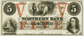 Obsoletes By State:Minnesota, Little Falls, MN - Northern Bank $5 18__ MN-63 UNL Hewitt B260-D5b.Proof. PCGS Very Choice New 64.. ...