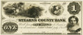 Obsoletes By State:Minnesota, Saint Cloud, MN - Stearns County Bank $1 July 5, 1859 MN-120 G2Hewitt B620-D1a. Proof. PCGS Very Choice New 64.. ...