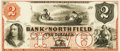 Obsoletes By State:Minnesota, Northfield, MN - Bank of Northfield $2 18__ MN-98 G4a HewittB440-D2. Proof. PCGS Very Choice New 64.. ...