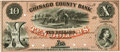 Obsoletes By State:Minnesota, Taylors Falls, MN - Chisago County Bank $10 MN-190 G8a HewittB840-D10. Proof. PCGS Gem New 66PPQ.. ...
