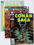 Magazines:Adventure, Savage Sword of Conan Box Lot (Marvel, 1980s) Condition: Average VF....