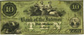 Obsoletes By State:New York, Albany, NY - Bank of the Interior $10 NY-70 G10a Jan. 12, 1858. Serial Number 1. PCGS Very Fine 25 Apparent.. ...