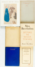 Books:Non-fiction, [Max Beerbohm]. Group of Six Titles. Various publishers and dates.... (Total: 6 Items)