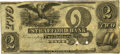 Obsoletes By State:New Hampshire, Dover, NH - Strafford Bank (2nd) $2 18__ NH-75 G20. Remainder. PCGS Choice About New 55 Apparent.. ...