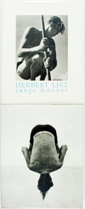 Books:Photography, [Photography]. Herbert List. Junge Manner. [together with:] Herb Ritts. Pictures. Twin Palms Publish... (Total: 2 Items)
