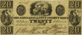 Obsoletes By State:Ohio, Kirtland, OH - Kirtland Safety Society Bank $20 Mar. 9, 1837 OH-245G12 Wolka 1424-14 Rust 9. PCGS Extremely Fine 40PPQ.. ...