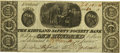 Obsoletes By State:Ohio, Kirtland, OH - Kirtland Safety Society Bank $100 Feb. 10, 1837OH-245 G18 Wolka 1424-18 Rust 11. PCGS Very Fine 30 Apparent....